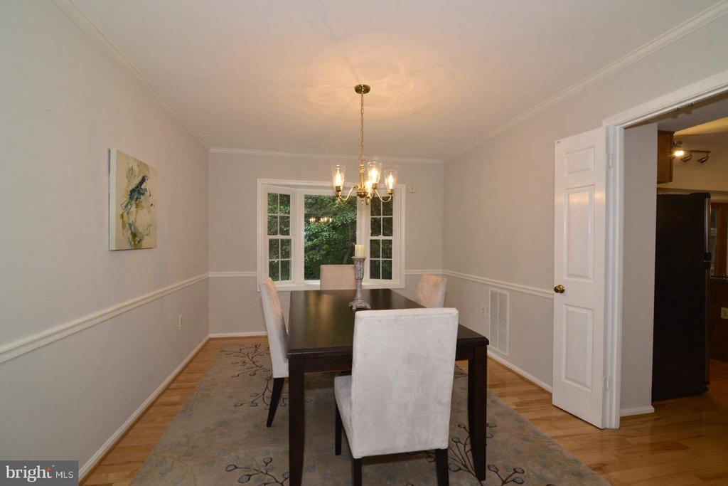 Dining Room - just off Kitchen - 11206 BRADBURY LN, RESTON