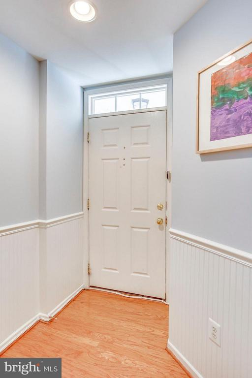 From the front door, step into your hallway - 12079 TRUMBULL WAY, RESTON