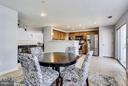 Kitchen / breakfast nook, sliding doors, balcony - 12079 TRUMBULL WAY, RESTON