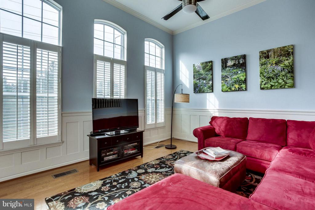 Living Room - 12079 TRUMBULL WAY, RESTON