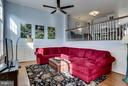 Large living room, remote controlled fan - 12079 TRUMBULL WAY, RESTON