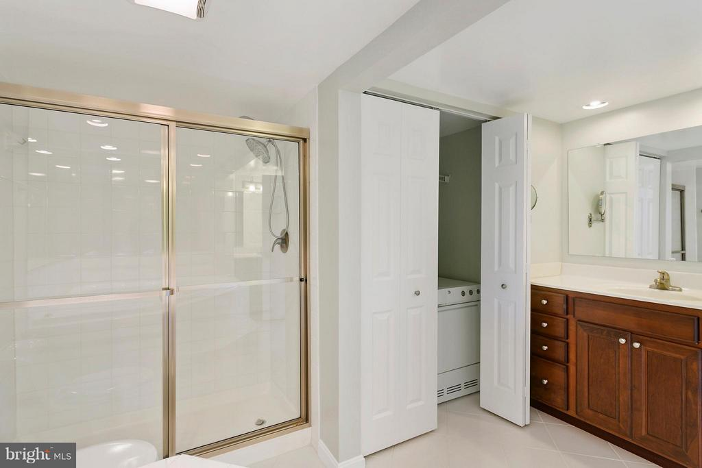 Laundry in bathroom closet - 1515 ARLINGTON RIDGE RD S #503, ARLINGTON