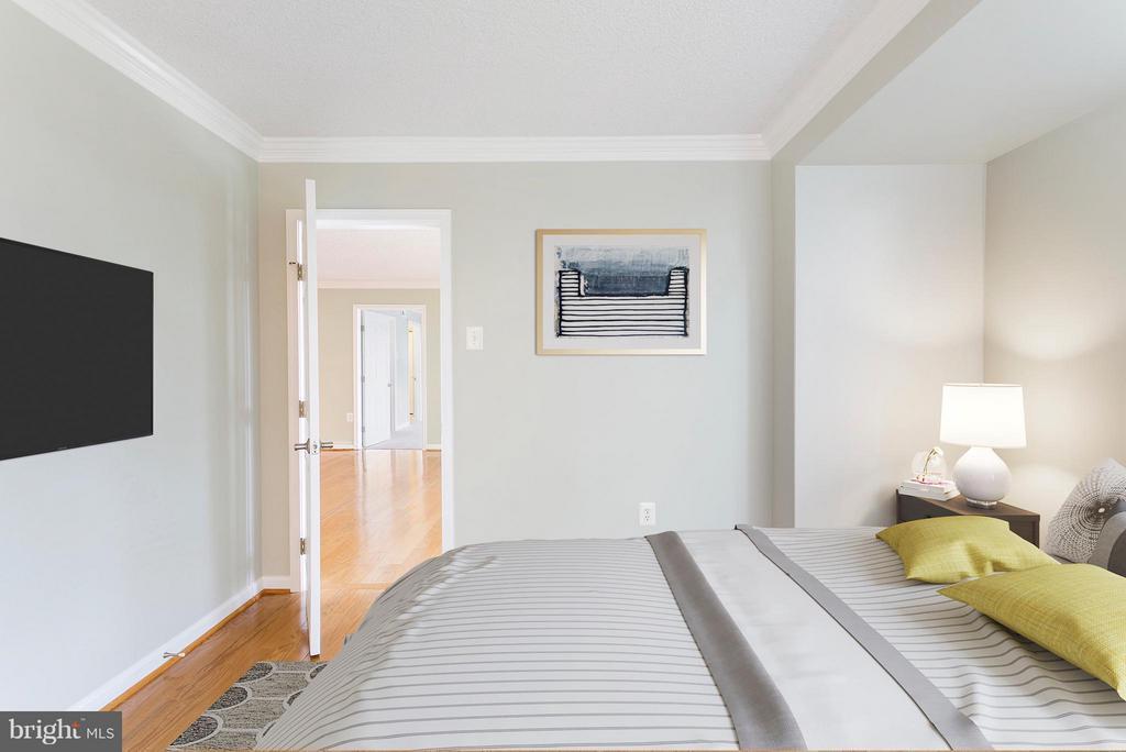 Bedroom 2 - 1515 ARLINGTON RIDGE RD S #503, ARLINGTON