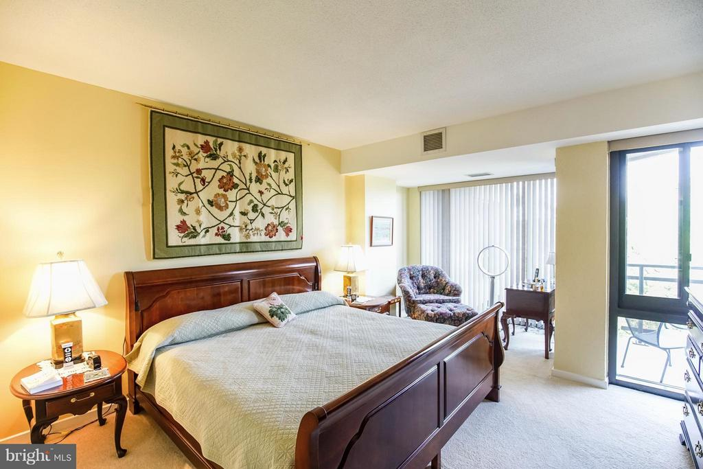 Master Bedroom on main floor - 1530 KEY BLVD #506, ARLINGTON