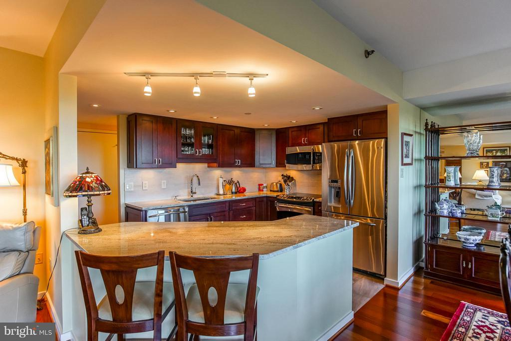 Updated / open kitchen concept - 1530 KEY BLVD #506, ARLINGTON