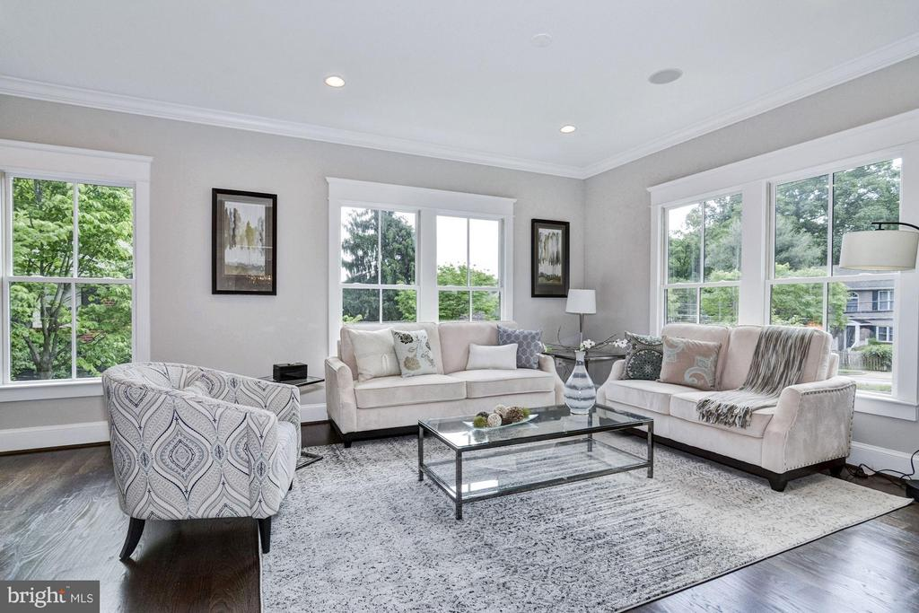 Light-filled and relaxing Living Room - 5601 WILLIAMSBURG BLVD, ARLINGTON