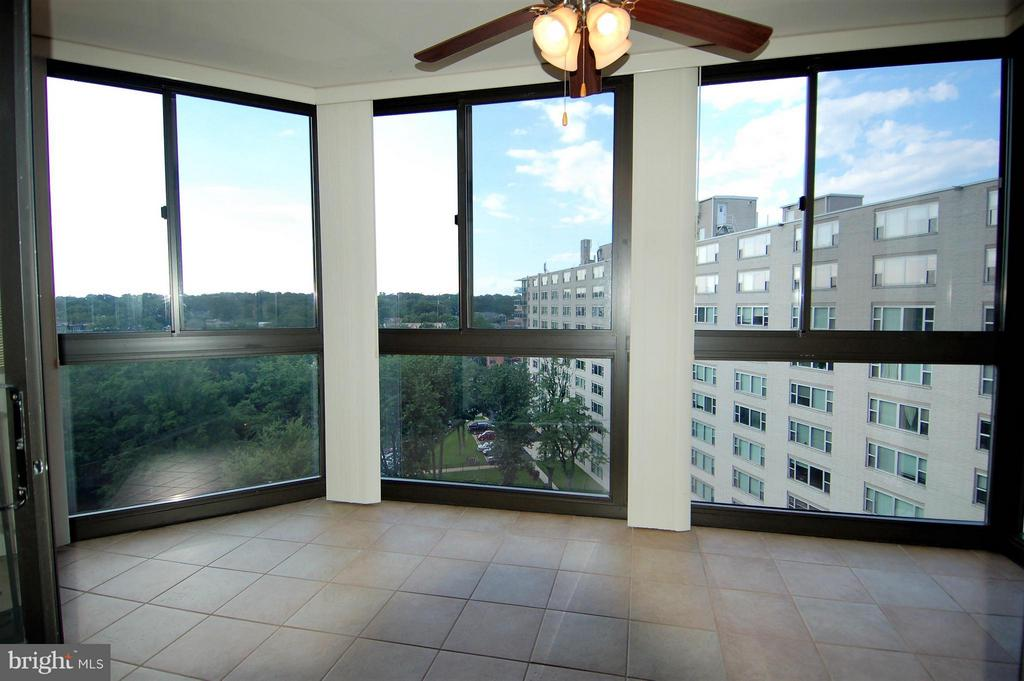 Sunroom with a view-different angle - 1001 RANDOLPH ST #917, ARLINGTON