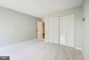 New carpet & great closet space in 2nd bedroom - 4600 FOUR MILE RUN DR #303, ARLINGTON
