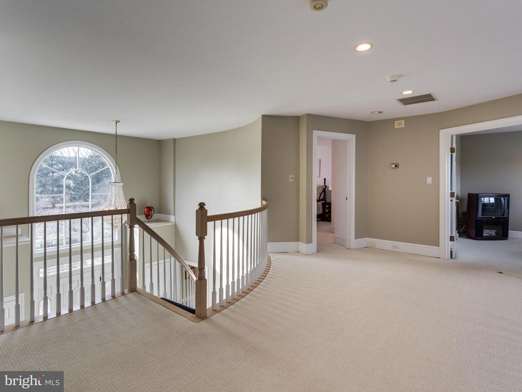 Spacious Upper Level Landing. - 2107 POLO POINTE DR, VIENNA