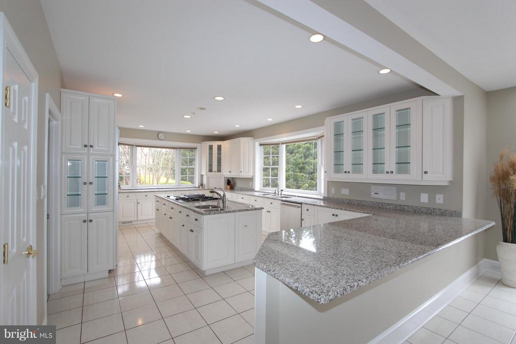 White Cabinetry, Granite Countertops/2 Bay Windows - 2107 POLO POINTE DR, VIENNA