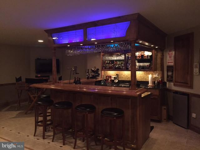 AMAZING Custom Built Bar by Professional Artisan - 40821 HANNAH DR, WATERFORD