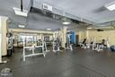 Spacious fitness center - 4600 FOUR MILE RUN DR #303, ARLINGTON