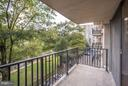 Quiet side of the building overlooking bike trail - 4600 FOUR MILE RUN DR #303, ARLINGTON
