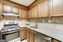 New granite counters & new custom backsplash! - 4600 FOUR MILE RUN DR #303, ARLINGTON