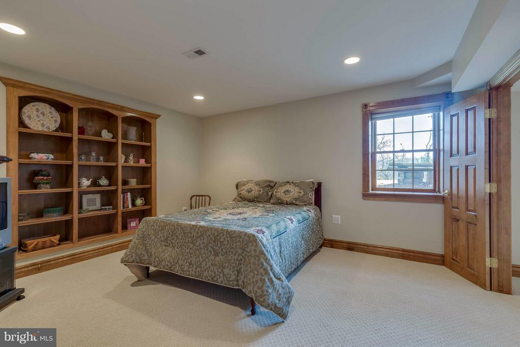 Fifth Bedroom - Lower Level In-Law Suite - 40821 HANNAH DR, WATERFORD