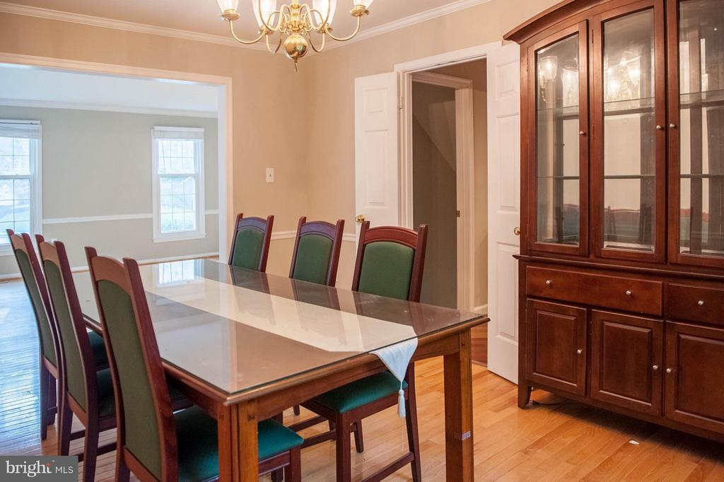 Dining Room - 6707 WOODEN SPOKE RD, BURKE