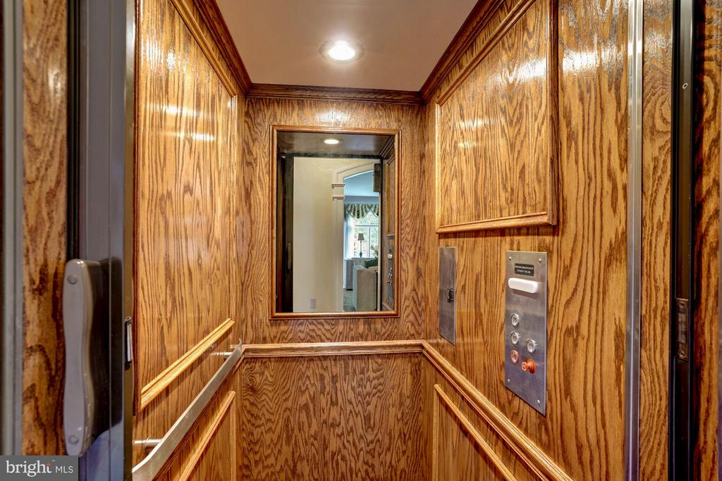 Elevator - 8651 OLD DOMINION DR, MCLEAN