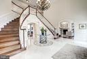 Grand Foyer - 8651 OLD DOMINION DR, MCLEAN