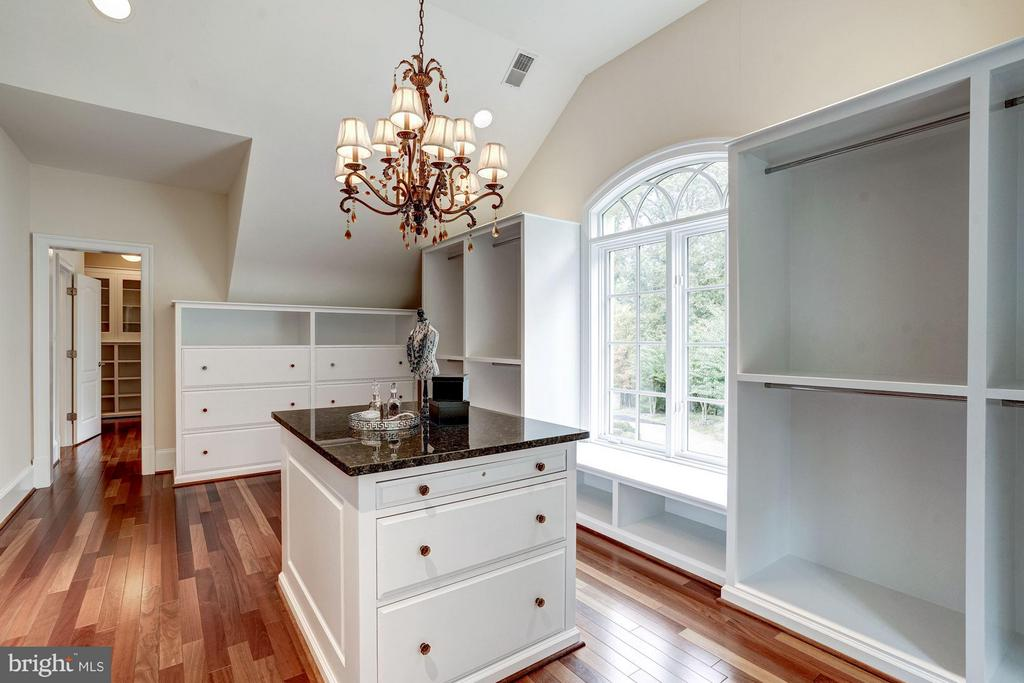 Bedroom (Master): WIC - 8651 OLD DOMINION DR, MCLEAN