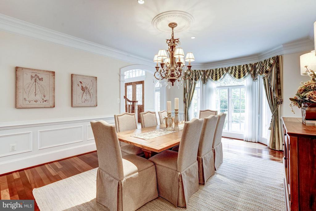 Dining Room - 8651 OLD DOMINION DR, MCLEAN