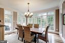 Breakfast Room - 8651 OLD DOMINION DR, MCLEAN