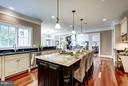 Kitchen - 8651 OLD DOMINION DR, MCLEAN