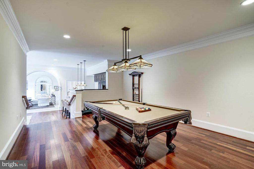 Billiard Room - 8651 OLD DOMINION DR, MCLEAN