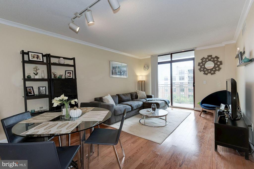 Smart floor plan - 1201 GARFIELD ST #602, ARLINGTON