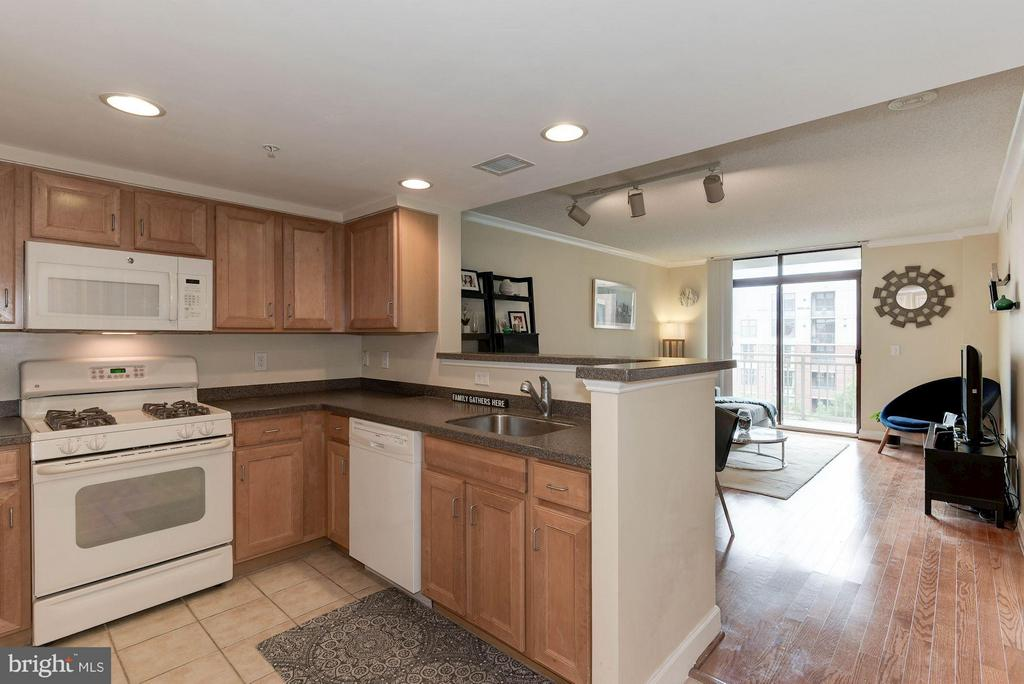 Open kitchen - 1201 GARFIELD ST #602, ARLINGTON