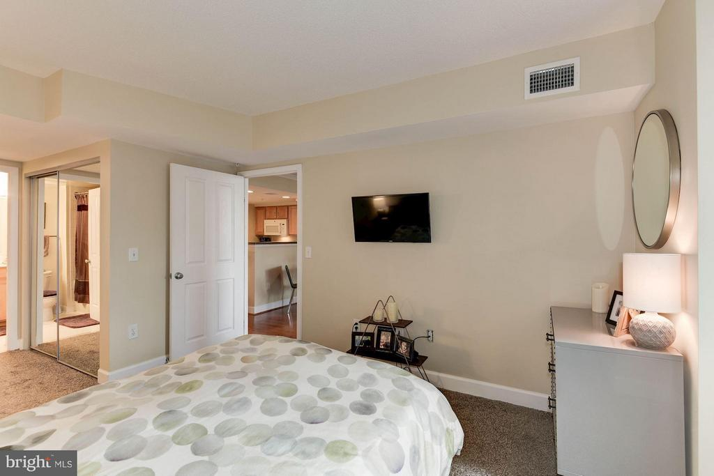 Large master bedroom - 1201 GARFIELD ST #602, ARLINGTON