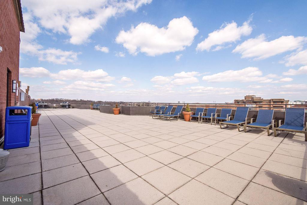 Community rooftop - 1024 UTAH ST #820, ARLINGTON
