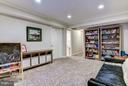 Basement Rec Room - 11715 N SHORE DR, RESTON