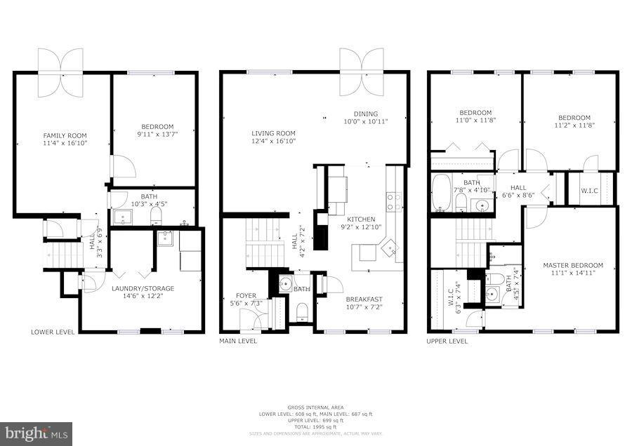 Floor Plan - 11715 NORTH SHORE DR, RESTON
