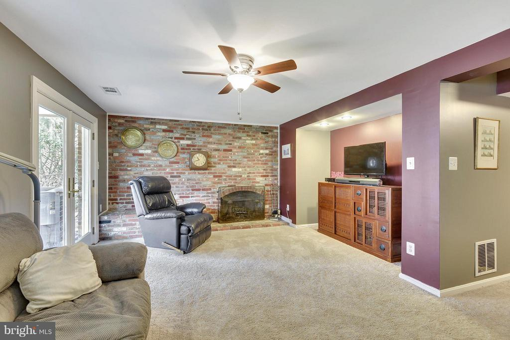 High ceilings, fireplace and lots of natural light - 2610 MARCEY RD, ARLINGTON