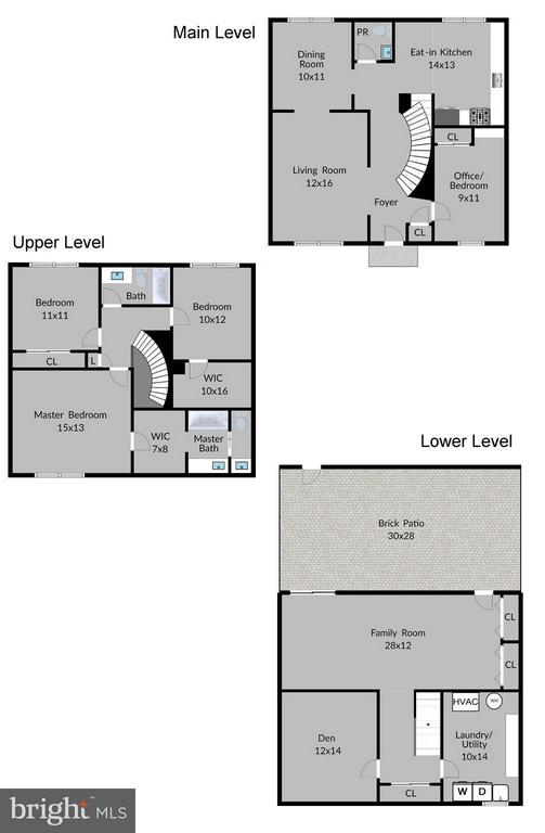 Floor Plan - 6018 WATERBURY CT, SPRINGFIELD