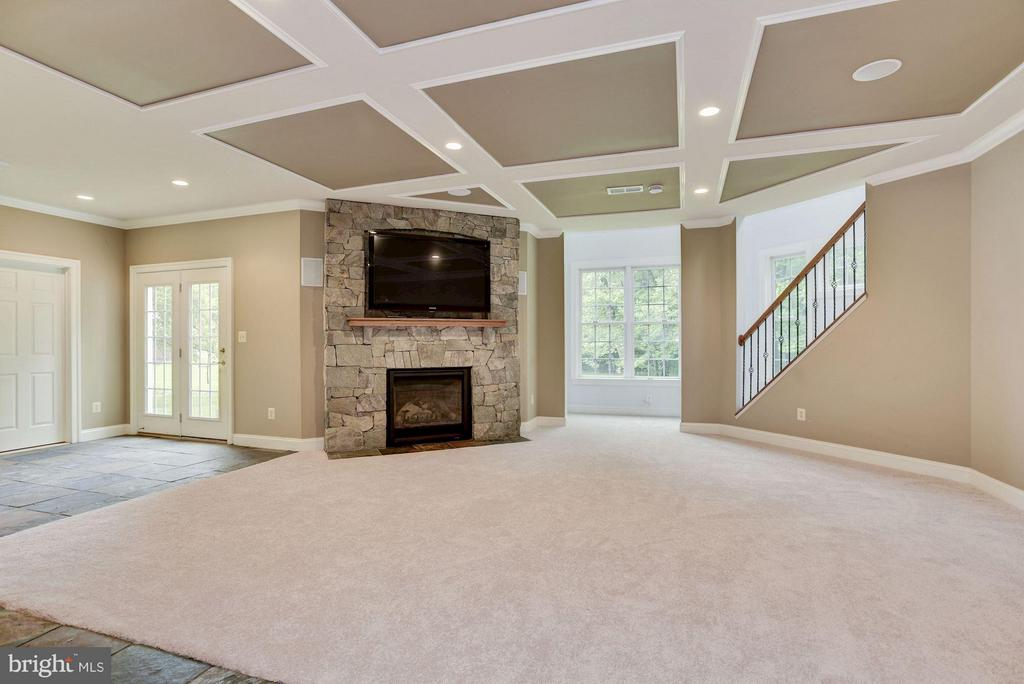 Light and Airy Lower Level with Walk-out - 1211 RESTON AVE, HERNDON
