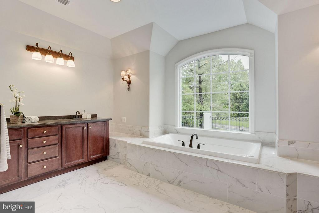 Master Bath with separate soaking tub & shower - 1211 RESTON AVE, HERNDON