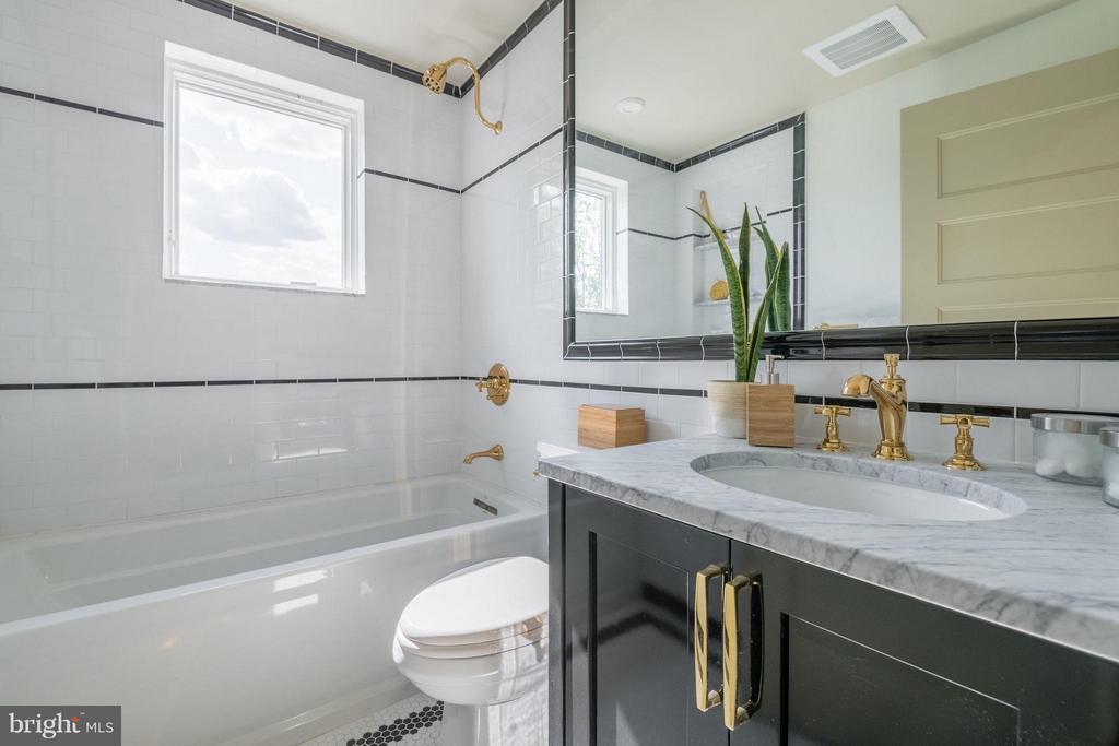 Honed Marble Countertops - 1301 H ST NE #3, WASHINGTON