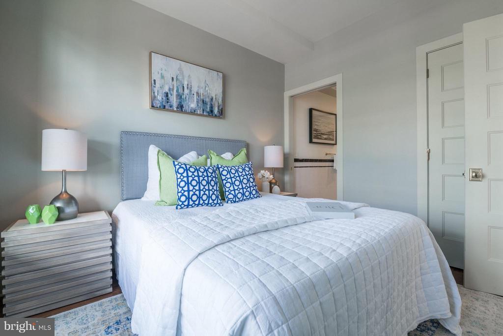 Bedroom - 1301 H ST NE #3, WASHINGTON