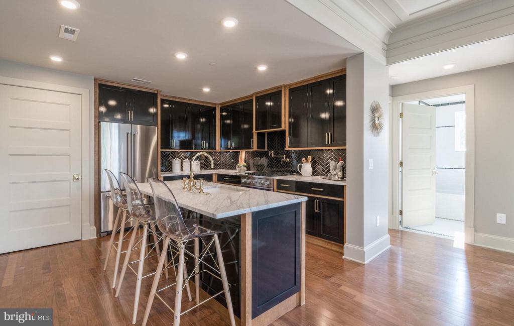 Custom designed hand made cabinetry~Kitchen - 1301 H ST NE #3, WASHINGTON