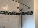 Updated bathroom view of tile work - 3033 CRANE DR, FALLS CHURCH