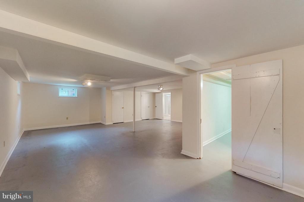 Very spacious basement, possibilities endless - 3033 CRANE DR, FALLS CHURCH
