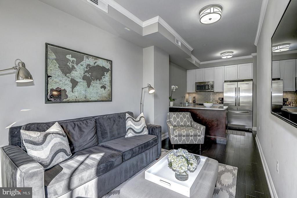 Unit 2 Living Room - 418 SEWARD SQ SE, WASHINGTON