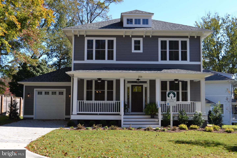 Single Family Home for Sale at 206 Marshall Street 206 Marshall Street Falls Church, Virginia 22046 United States