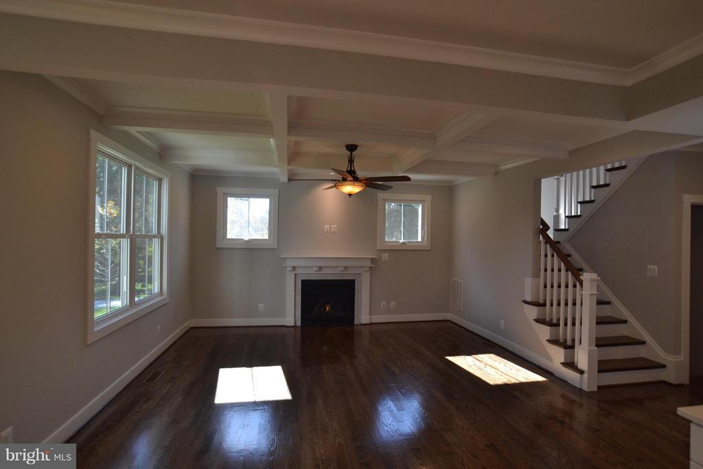 Family Room - 206 MARSHALL ST, FALLS CHURCH