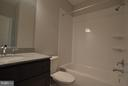 ONE OF FOUR FULL BATHS - 206 MARSHALL ST, FALLS CHURCH