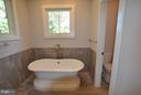 FREE STANDING SOAKING TUB, ELEGANT TILE WORK - 206 MARSHALL ST, FALLS CHURCH