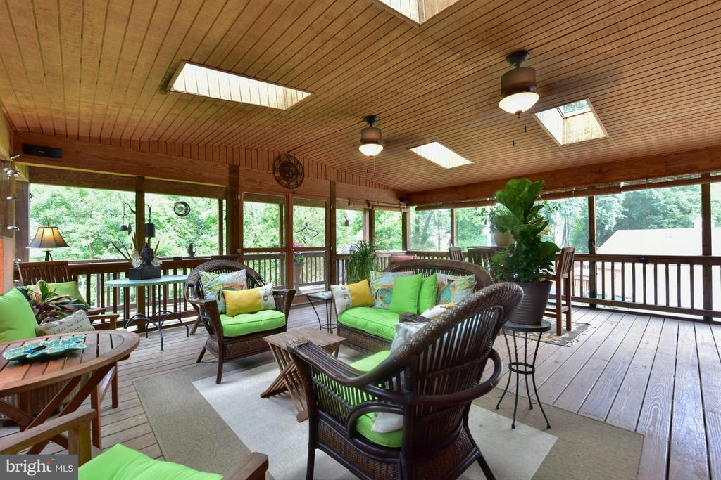 Screened Porch - 9350 MOUNT VERNON CIR, ALEXANDRIA