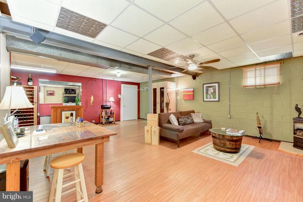 Lower Level Recreation Room - 9350 MOUNT VERNON CIR, ALEXANDRIA