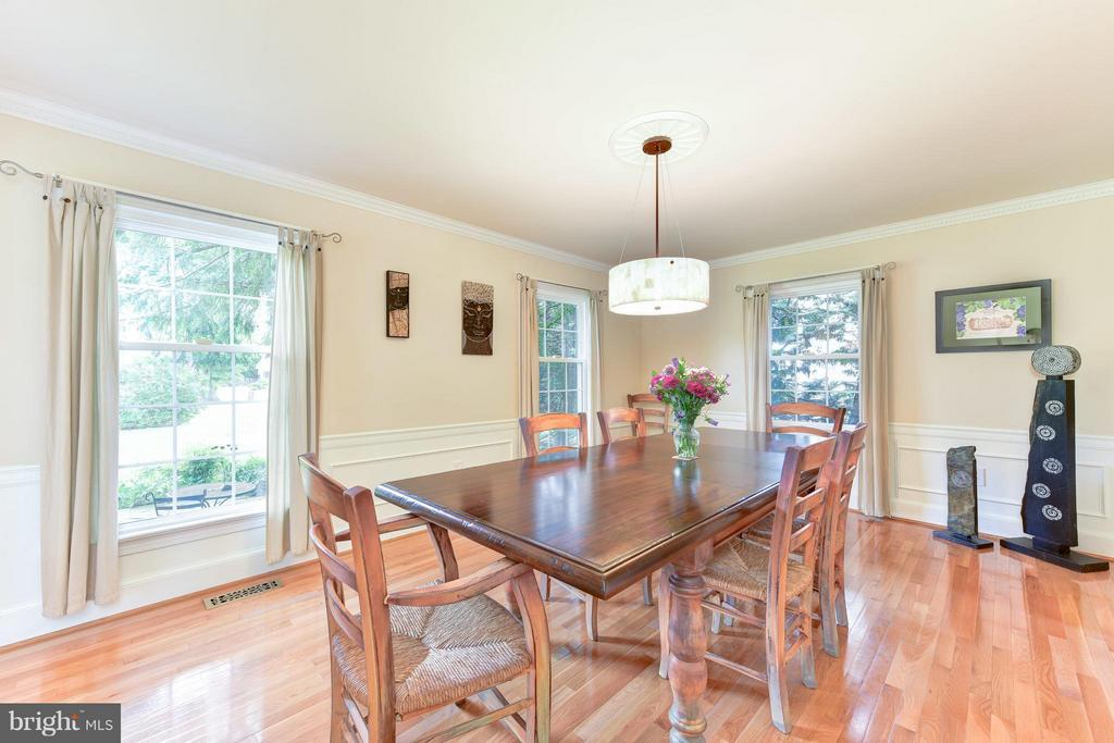 Large Dining Room - 9350 MOUNT VERNON CIR, ALEXANDRIA